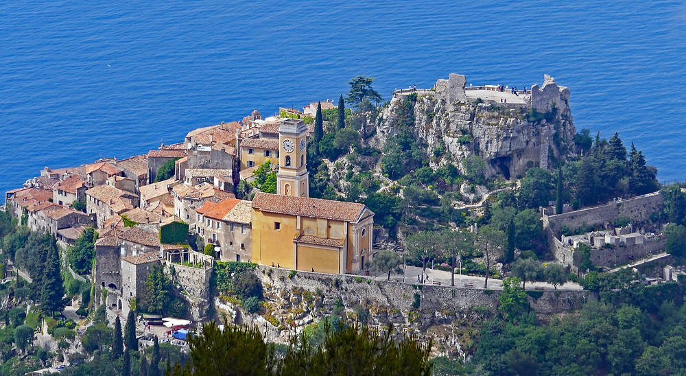 The lovely hilltop village of Eze, France.