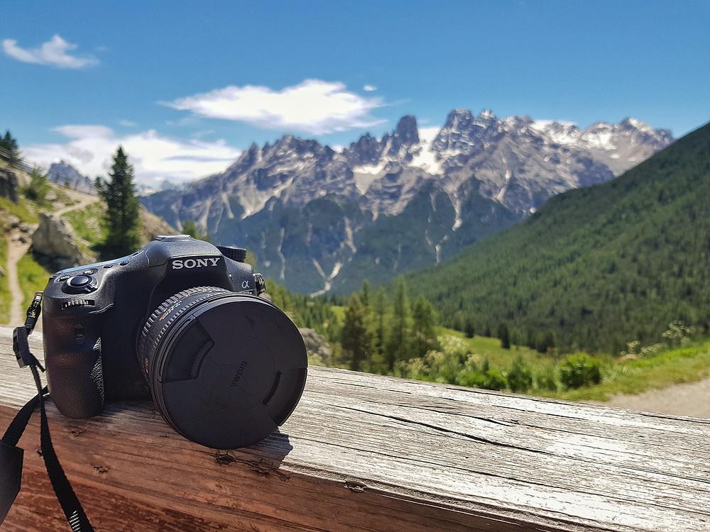 The majestic Dolomites, Italy
