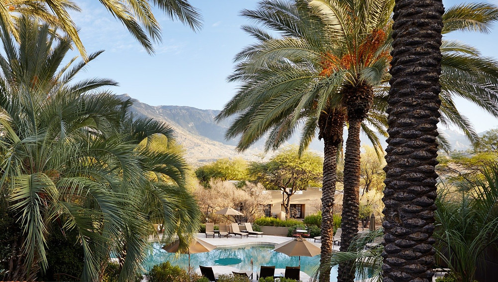 Miraval Tucson's secluded accommodations and beautiful views.