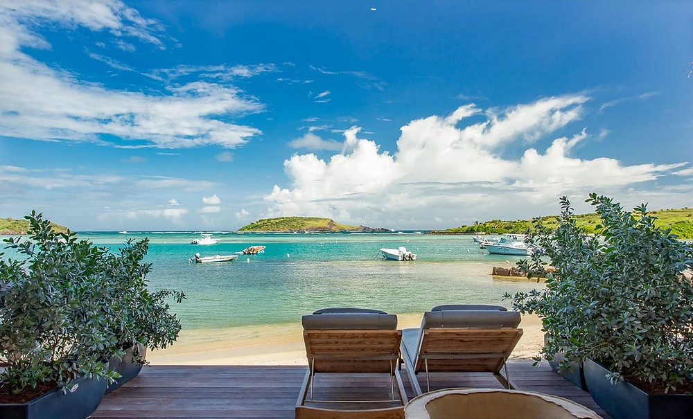 Lovely suite at Le Barthélemy Hotel in St. Barts