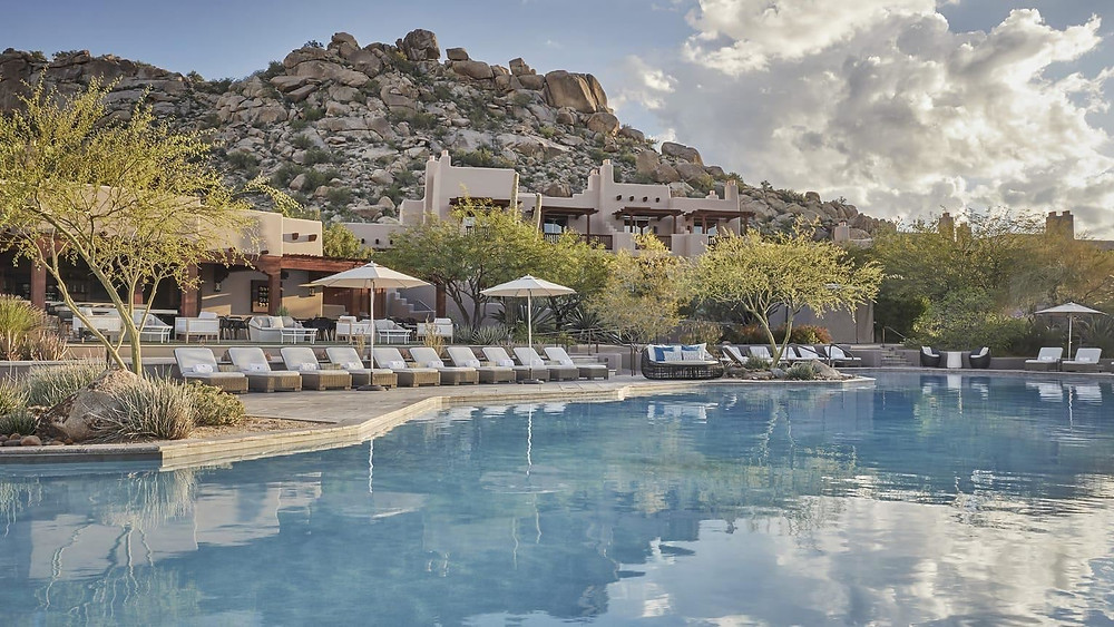 Four Seasons Scottsdale for relaxation and pampering in the desert
