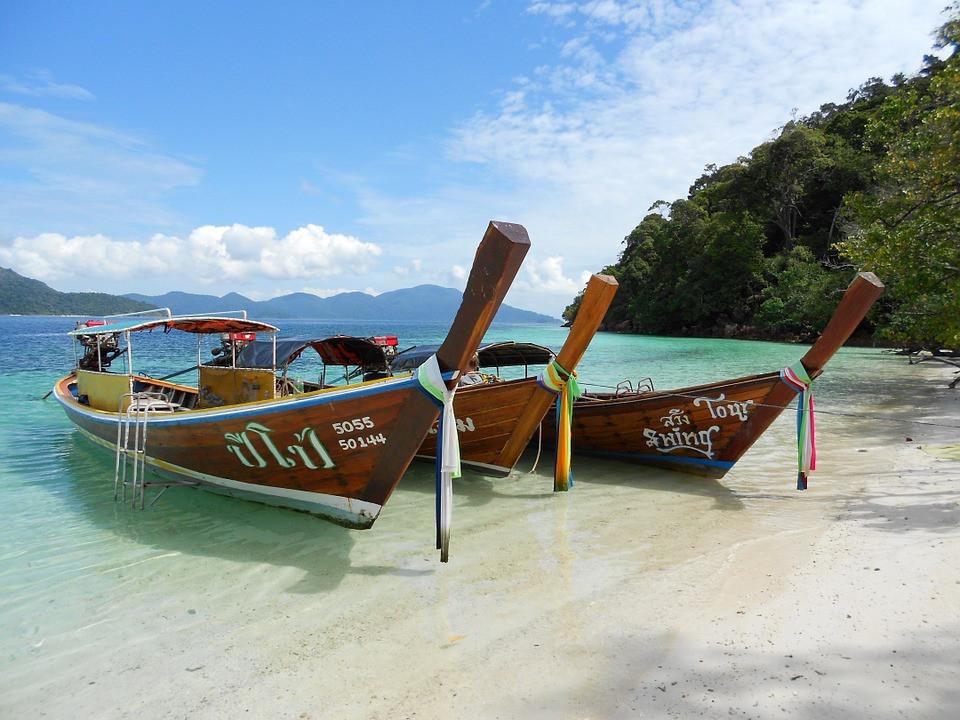 Remote beach in Thailand