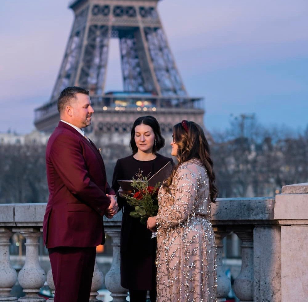 Vow Renewal in Paris
