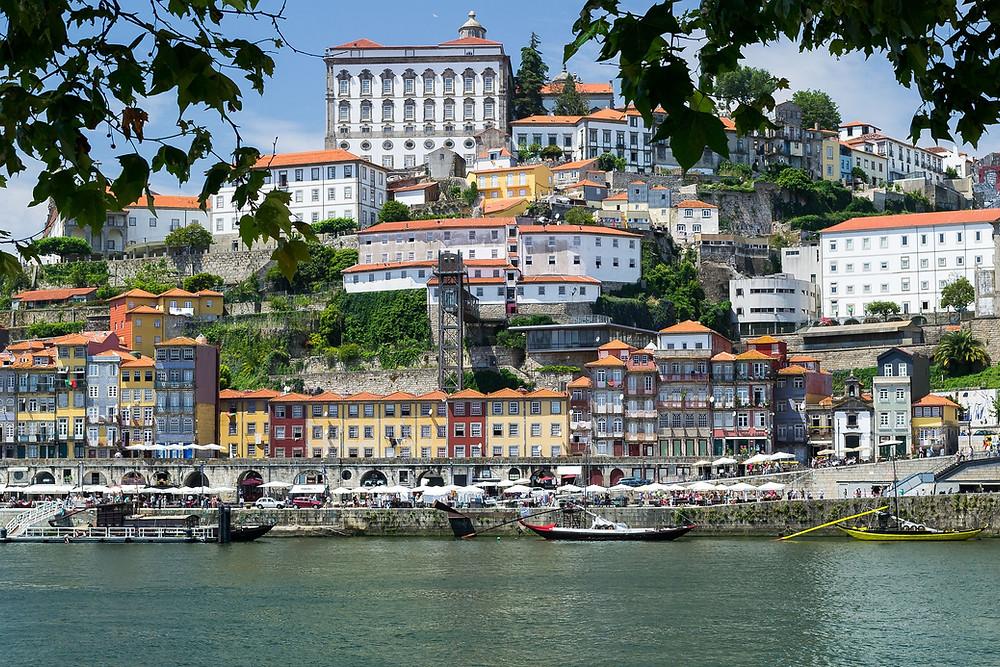 Beautiful view of Porto, Portugal