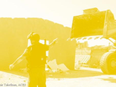 جلسة في المحكمة العليا لمنع إخلاء قرى مسافر يطّا