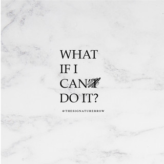 What if I can do it?
