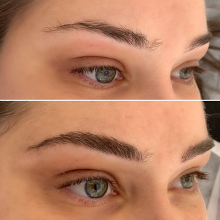 Microblading Feathering Tattoo
