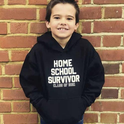 Home School Survivor Hoodie (CHILD)