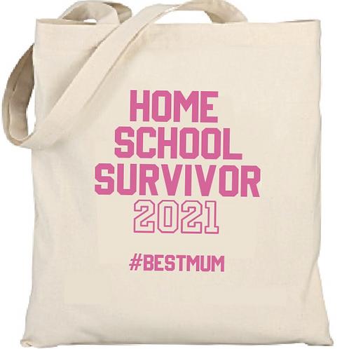 Home School Survivor Cotton Shopper