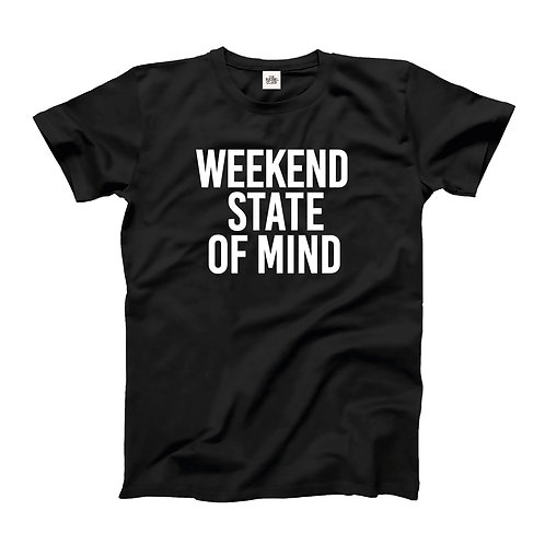 Weekend State of  Mind Organic T-shirt