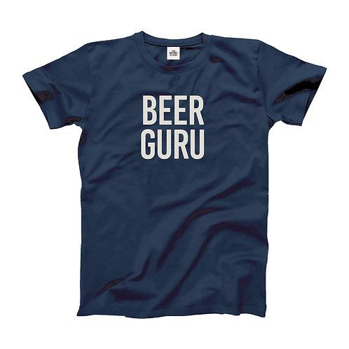 Beer Guru printed Organic T-shirt
