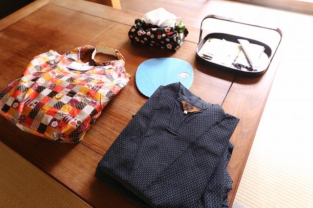 作務衣&銭湯セット