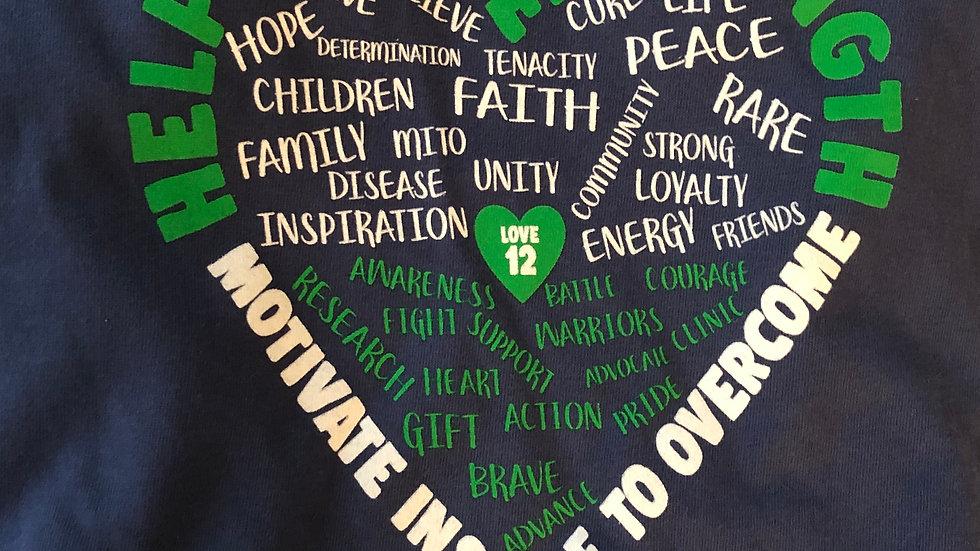 Mito Tee, Short Sleeve, Help Us Give Strength, Love 12
