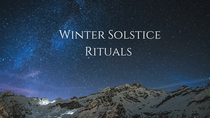 Winter Solstice - December 21st