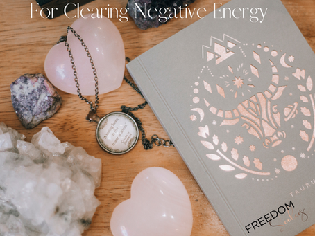 5- Simple Tools To Clear Negative Energy