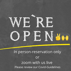 We are open .png