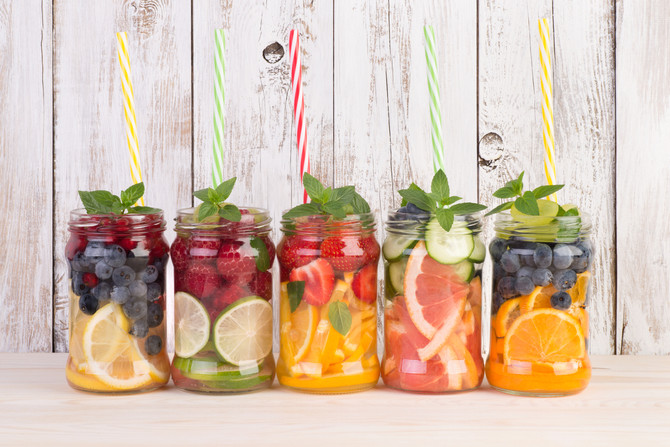 INFUSED WATER IS THE REAL DEAL