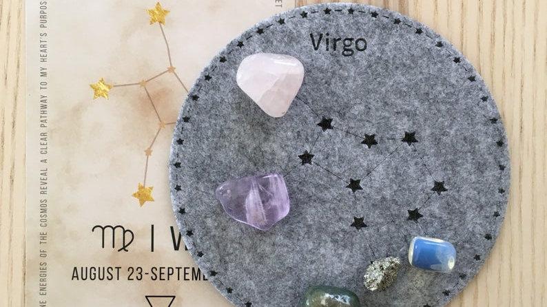 Virgo Crystal Grid
