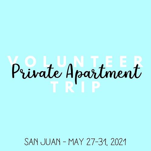 Volunteer Trip (San Juan - May 27-31, 2021)