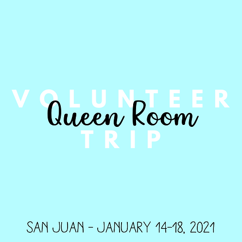 Volunteer Trip (San Juan - Jan 14-18, 2021)