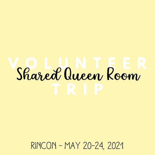 Volunteer Trip (Rincon - May 20-24, 2021)
