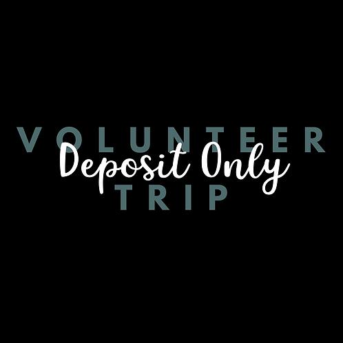 Volunteer Trip Deposit