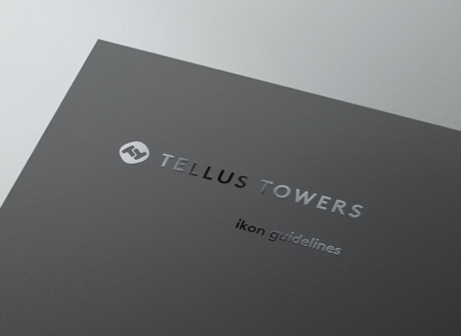 Tellus Towers Icon Design