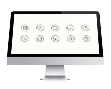 Qliro.com digital icons