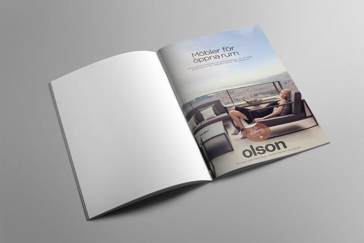 Olsons Möbler ad