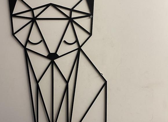 Renard géométrique géant