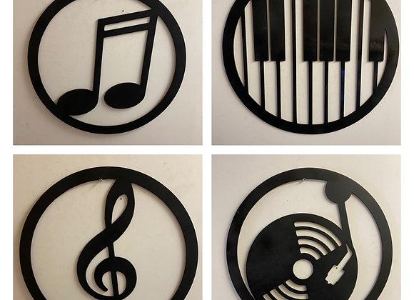 Déco thème musique