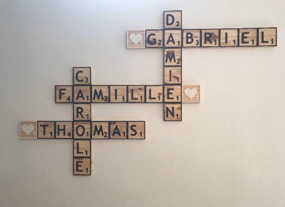 Lettres Scrabble family