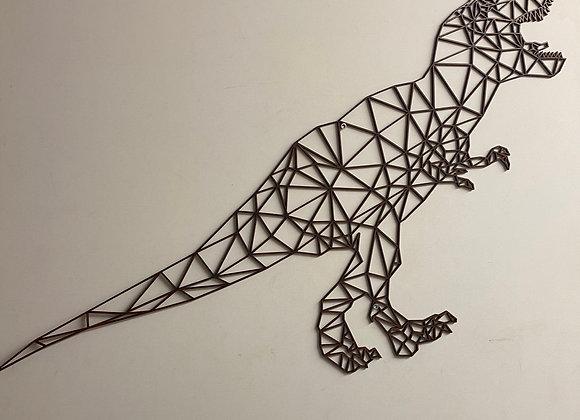 Dinosaure t-rex en bois