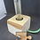 Thumbnail: Lampe cube bois