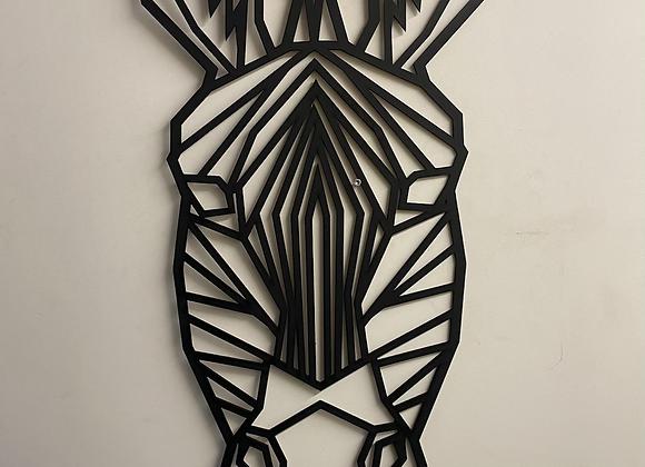 Zèbre géométrique géant
