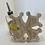 Thumbnail: Croix occitane déco murale ou dessous de plat