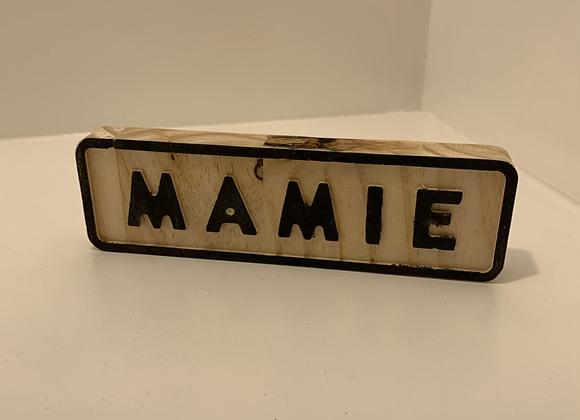 Plaque mamie