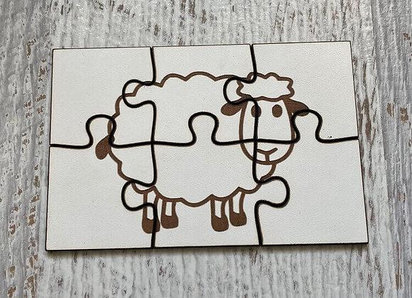 Puzzle enfant Mouton