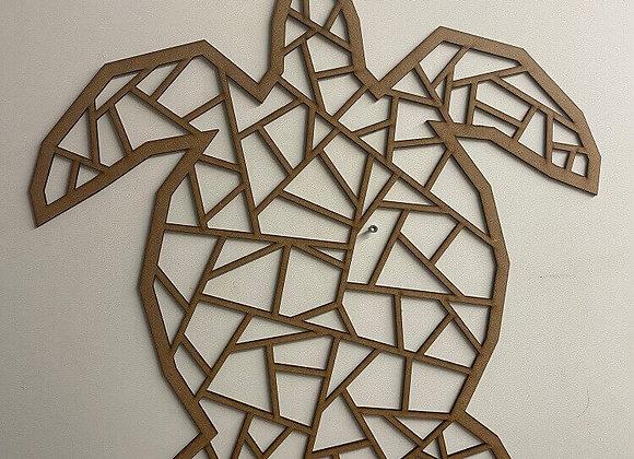 Tortue géométrique géante bois Melodeco Narbonne