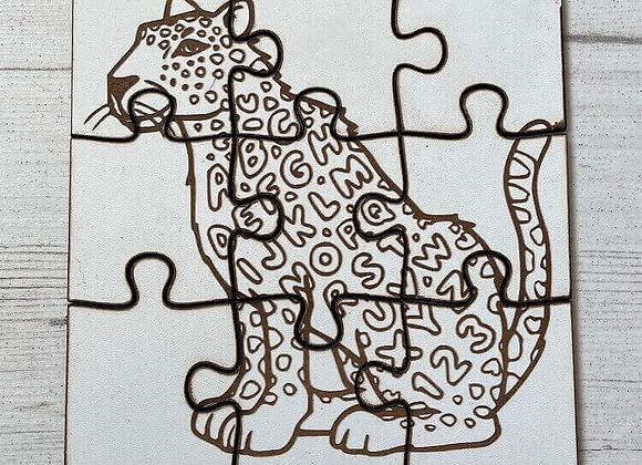 Puzzle enfant Léopard