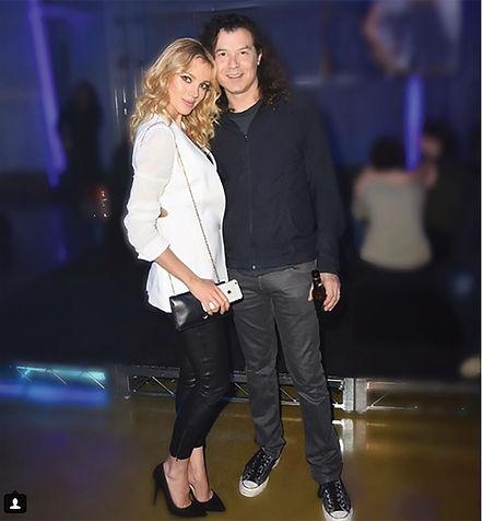 פאלי עם בעלה, איאן קסטנר