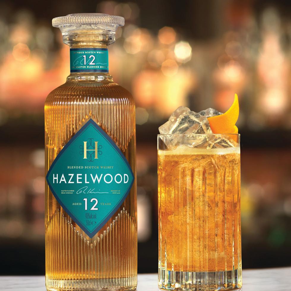 וויסקי הייזלווד 12 (40% אלכוהול)