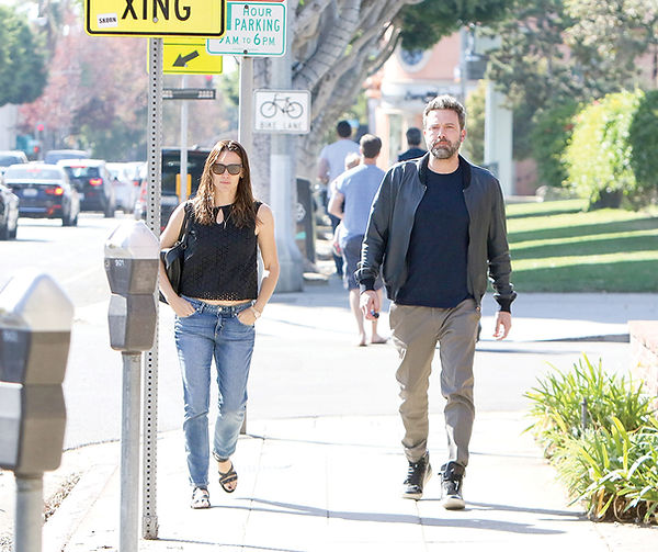 Jennifer Garner and Ben Affleck- Bauer g