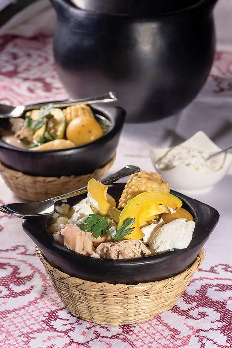 מרק עוף קולומביאני