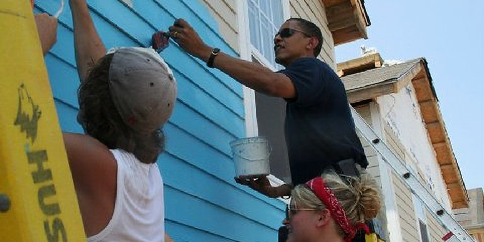 Espoirs après l'ouragan Katrina. Hope after Hurricane Katrina.