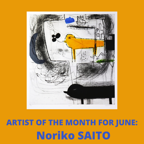 Saito - artist of the month