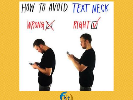 """Text neck"""