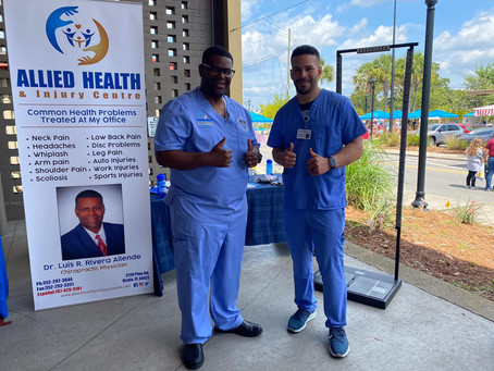 Allied Health & Injury Centre at the Downtown Ocala Market