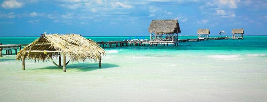 гостинцы и пляжи на островах Кубы