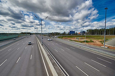 road from Moscow to Vladimir city